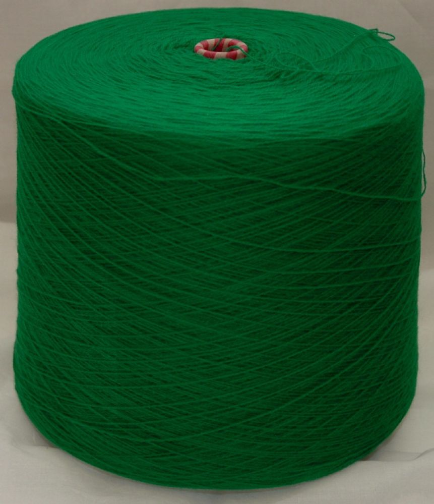 High Bulk Yarn 2/28s - Emerald - 1600g